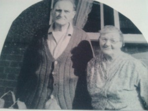 Old photo of Grandpa and Grandma