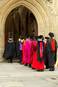 Bath university academics enter the Abbey