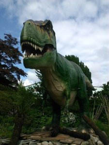 Dinosaur at Bristol Zoo