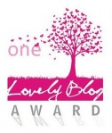 Logo of the One Lovely Blog Award