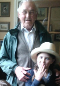 Grandpa and Laura