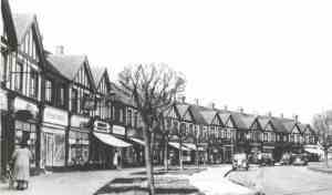 View of The Oval, the shopping parade in Sidcup