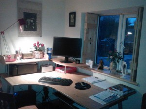 Picture of my desk