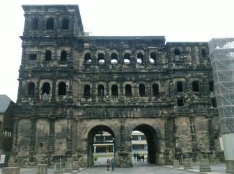 Porta Nigra in Trier, Germany