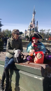 Mandy and Laura at Disneyland Paris