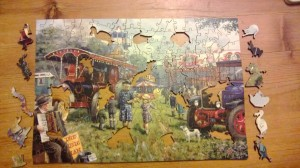 Wentworth Wooden Puzzle with whimsies