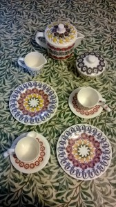 Emma Bridgewater design tea set