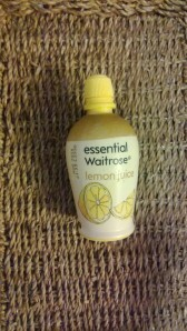 Waitrose own brand equivalent to Jif lemon juice