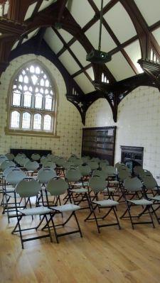 Interior of the Divinity Lightfoot room