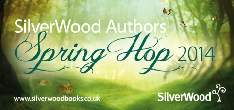 Logo for the SilverWood Authors Spring Hop