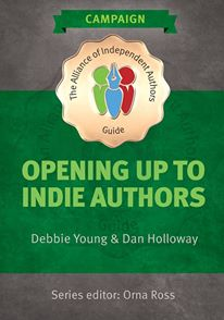 """Cover of """"Opening Up To Indie Authors"""""""
