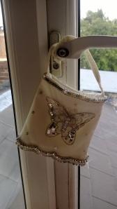 Butterfly pattern bag