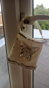 Butterfly pattern bag