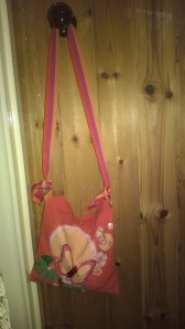 Butterfly patterned bag