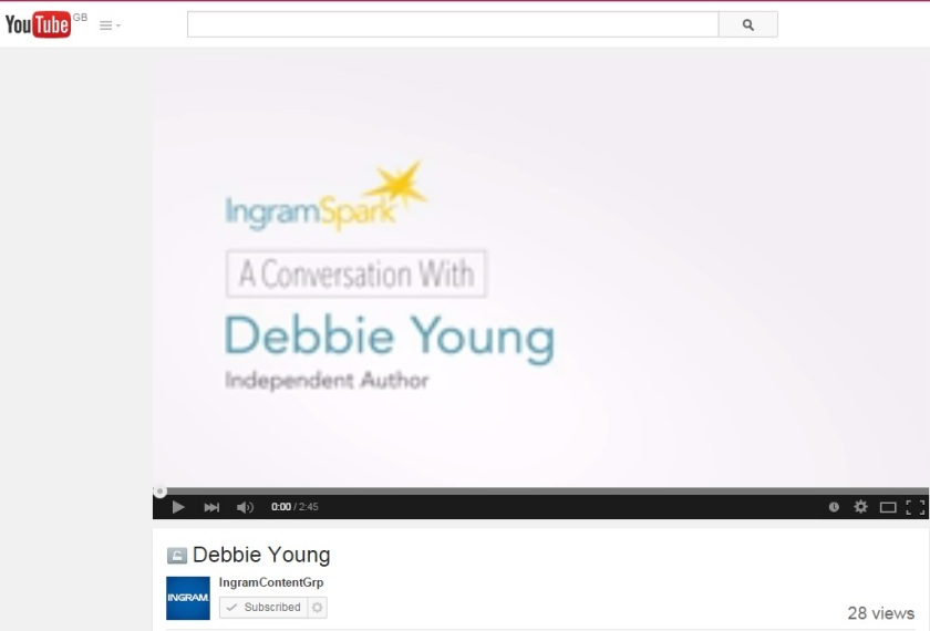Image of the YouTube cover for my interview