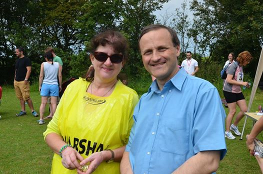 Photo of Debbie Young and Steve Webb