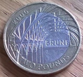 Brunel £2 coin