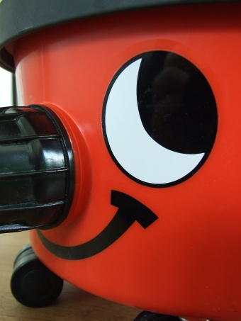 Smiley faced Henry Hoover
