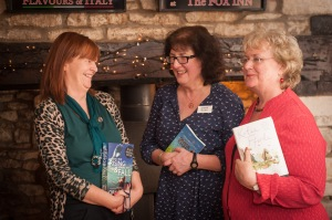 Debbie with Orna Ross and Katie Fforde