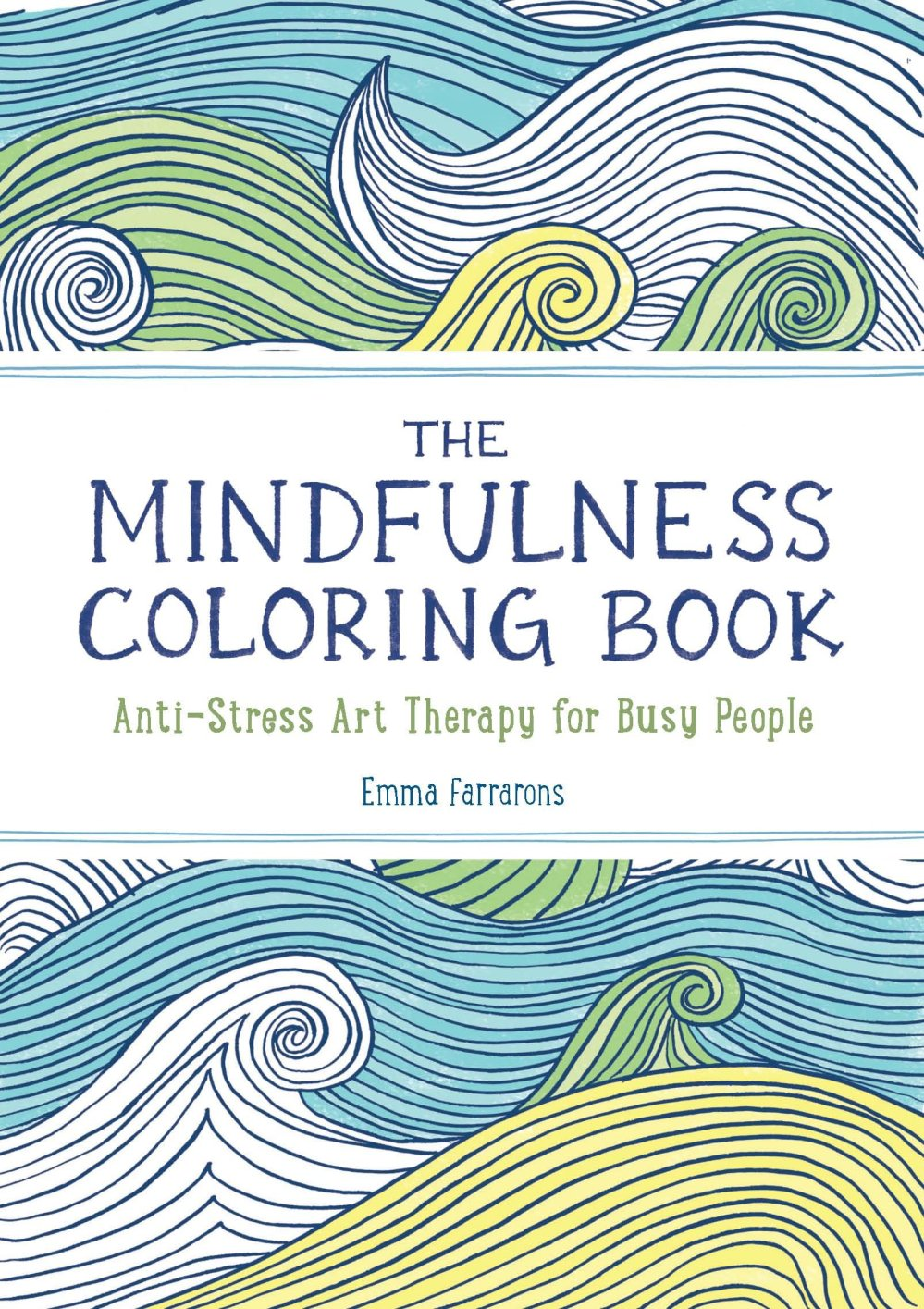 cover of The Mindfulness colouring book