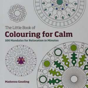 cover of colouring for calm