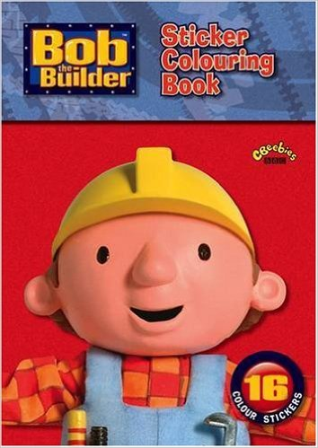 cover of Bob the Builder colouring book
