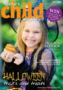 Cover of October issue of Today's Child
