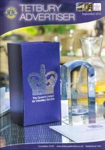 Cover of issue celebrating Queen's Award