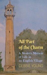 cover of book showing painting of column