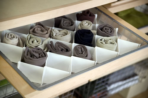 The ulitmate sock drawer organiser?