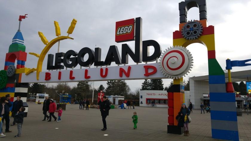 Entrance to Legoland