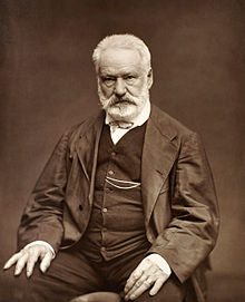 Photo of Victor Hugo in a suit