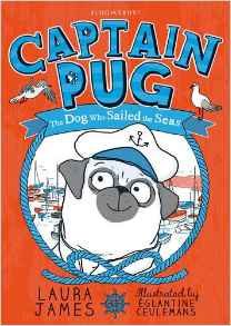 Cover of Captain Pug by Laura James