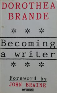 Cover of Dorothea Brande's Becoming a Writer