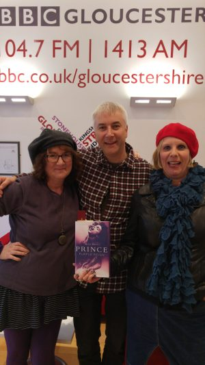 Photo of Debbie Young, Dominic Cotter and Caroline Sanderson