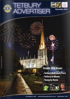 Cover the November Tetbury Advertiser