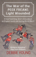 "Cover of ""The War of the Peek Freans Light Wounded"" featuring toy soldiers"
