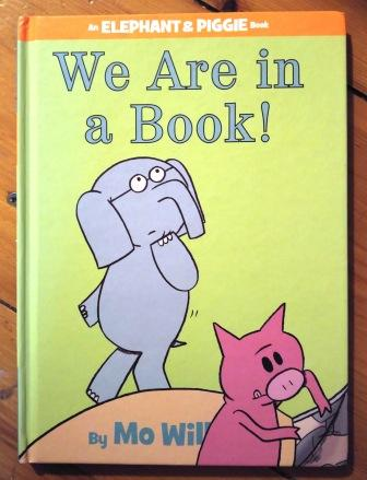 "Cover of ""We are in a book!"" by Mo Willems"