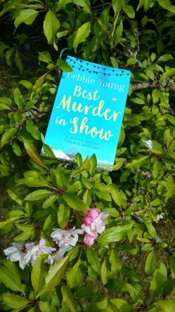 Cover of Best Murder in Show amongst apple blossom