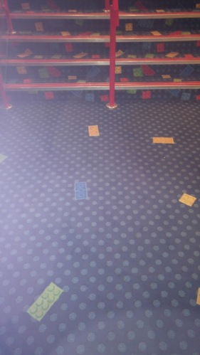 photo of hotel carpet