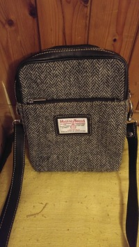 photo of Harris Tweed shoulder bag