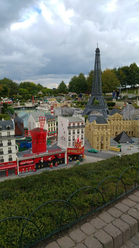photo of Lego models of landmarks