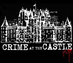 logo for Crime at the Castle