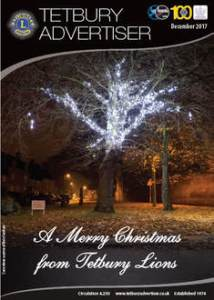 cover of the December issue of the Tetbury Advertiser