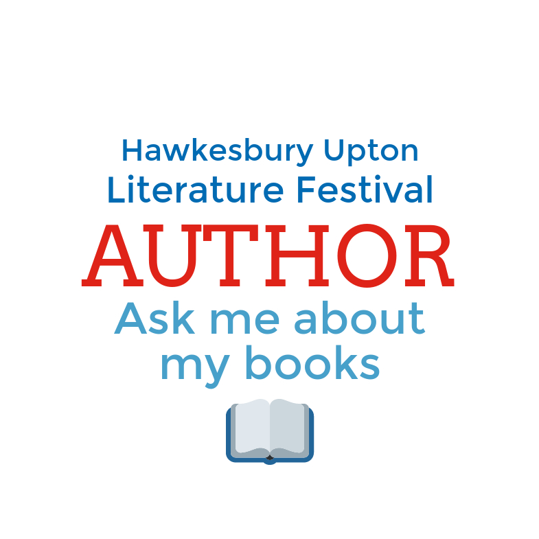 image of Hawkesbury Upton Festival Author badge