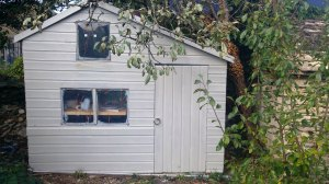 Photo of new-look shed