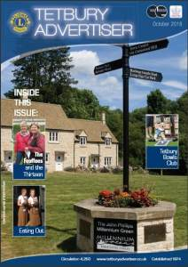 Cover of October Issue of Tetbury Advertiser