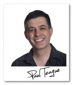 headshot of paul teague