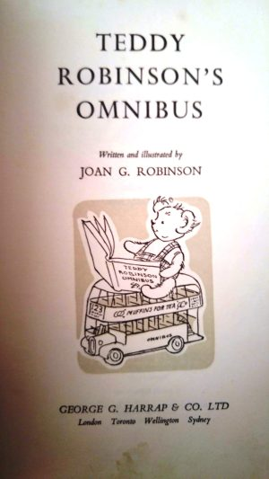 first page of Teddy Robinson's Omnibus book