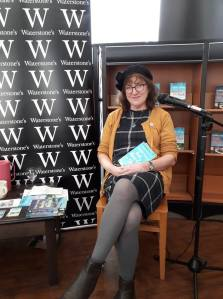 photo of Debbie Young at Waterstones Inverness